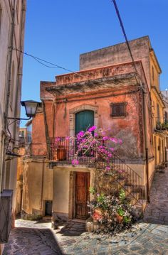 Back streets of Castel Mola Sicily Photo by Richard Freeman -- National Geographic Your Shot