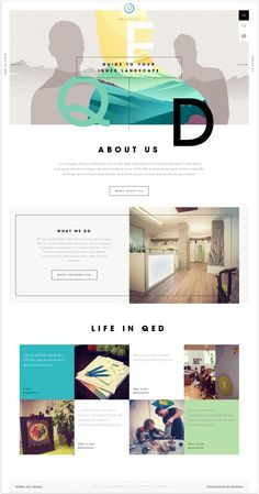 Web / QED Group / Daily Web Design And Development Inspirations Website Design Inspiration, Best Website Design, Creative Web Design, Web Ui Design, Web Design Color, Email Design, Flyer Design, Graphic Design, Web Layout