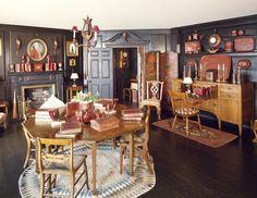 Octagon Room at Beauport, Sleeper-McCann House in Gloucester, Massachusetts.