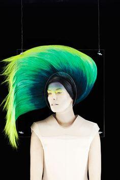 SHOW/OFF # 4 magazine. Photographer: Madame Peripetie.  Styling: Rolf Buck. Hair/Make-up: Julia Heiermann. S)
