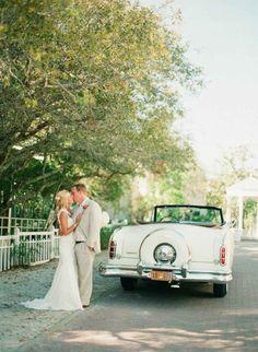 Wedding Inspiration and Ideas: Florida Vintage Beach Wedding, Natalie and George | Destination Weddings & Honeymoons