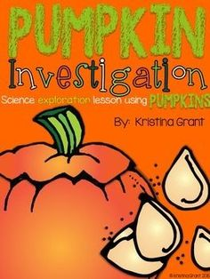 FREE Pumpkin Investigation {Science} Here is a FREE Pumpkin Investigation to go along with your science units in October and November. Students will do attributes of a pumpkin, find its weight, height, and circumference. They will also test if it sinks or Fall Preschool, Kindergarten Science, Science Classroom, Teaching Science, Science Activities, Montessori Classroom, Elementary Science, Teaching Ideas, Classroom Ideas