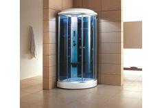 Steam Shower - Overstock™ Shopping - Great Deals on Ariel Steam Rooms Steam Shower Enclosure, Bathtub Enclosures, Sauna Shower, Rainfall Shower, Toilet Storage, Locker Storage, Steam Sauna, Futuristic Home, Digital Timer