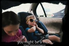 A lighthearted look at all the things a mother does -- you might be a mom -- // at finding joy