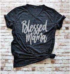 Blessed Mama Shirt Blessed shirt Mom life is the best life #etsy #handmade #clothes #love #want #handmadeclothes #handmadeshirt  #handmadeetsy #etsyshop #mom #momshirt #mombirthday #momgift #mompresent  #aunt #auntgift #auntpresent #tiredasamother #mother #funnyshirt #funny  #3buggasdesign #christmas #christmaspresent #woman #blessed #blessedmama #blessedmamashirt #uniquegift #momofboys #boymom #auntchristmas #momchristmas