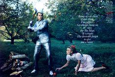 The Wizard of Oz  Photography: Annie Leibovitz