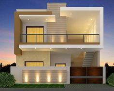 Best Value House In Toor Enclave Jalandhar in Jalandhar, Punjab, India in Houses - Apartments for Sale category under budget INR ₹ 2 Storey House Design, Bungalow House Design, House Front Design, Small House Design, Modern House Design, Front Elevation Designs, House Elevation, Indian House Plans, Independent House