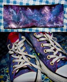 Galaxy Bandeau Top and Shoes