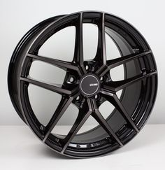 "4-New 18/"" Enkei Raijin Wheels 18x9.5 5x100 45 Black Paint Rims"