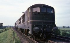 BR Metro Vick electric loco (originally gas-turbine) near Westcott, May 1970 Electric Locomotive, Diesel Locomotive, Gas Turbine, Steam Railway, British Rail, Electric Train, Great Western, After Life, Trains