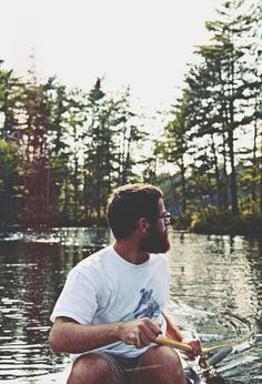 "betomad: "" Mitch in Adirondack Mountains, NY. photo by Valerie Manne """