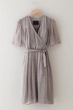 Libra Wrap Dress by Steven Alan