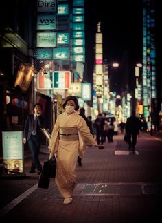 Facemasks of Tokyo | Trey Ratcliff - if people are ill in Japan, they wear face masks