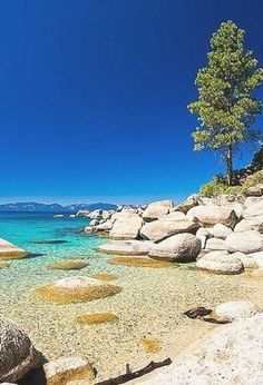 Sand Harbor, Lake Tahoe Lake Tahoe Hiking, Lake Tahoe Vacation, Sand Harbor Lake Tahoe, South Lake Tahoe, Estes Park, Find Picture, During The Summer, Winter Scenes, Rock Climbing