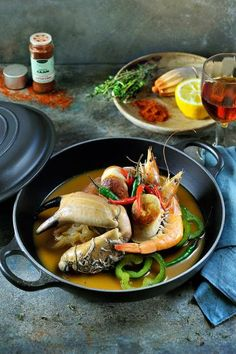 Teriyaki risotto with mullet httpbbcfoodrecipes gumbo met reuzengarnalen krab en witte pens httpnjam forumfinder Gallery