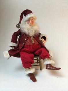 Polymer Clay Dolls, Dollhouse Miniatures, Christmas Time, Samurai, Victorian, Collection, Art, Fashion, Art Background