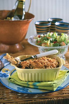 Chicken Casserole D'Iberville - 21 Quick-Fix Comforting Casseroles - Southernliving. Recipes:Chicken Casserole D'Iberville (use one 8-inch square casserole)Tossed saladCaramel-Apple Grahams  Stock your freezer with this A  chicken-and-rice casserole, and you have dinners ready to bake. For a family, divide mixture into three 8-inch square baking dishes. (To keep a big casserole on hand for potluck suppers, place the mixture in a 4-quart dish.) If you're short on baking dishes, use foil…