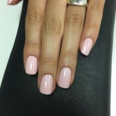 CND Shellac Winter Glow An opaque pink based colour - one of the softer ones in the CNS Shellac range.