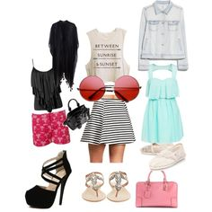 3 outfits and more :) by hrit on Polyvore featuring polyvore fashion style Oneness MANGO Pieces VILA Antik Batik TOMS Loewe Alexander McQueen INDIE HAIR
