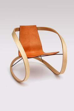 ribbon rocking chair by Katie Walker