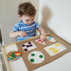 Diy Babyspielzeug lernen - RetroModa, You are in the right place about Montessori Materials printables Here we offer you the most beautiful pictures about the ho Preschool Learning Activities, Infant Activities, Preschool Activities, Diy Educational Toys For Toddlers, Diy Learning Toys, Young Toddler Activities, Emotions Activities, Learning Shapes, Toddler Crafts