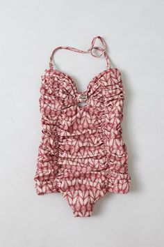 Anthropologie Tori Praver Marilyn One Piece