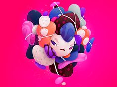 tangled by Alexandra Zutto on Dribbble