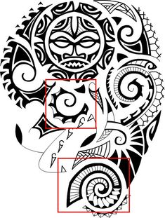 polynesian_tattoo_meanings_sea_shells_design_sample.png.jpg 488×645 pixels