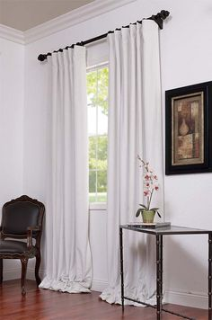 14 Wonderful Blackout Curtains In White Photograph Ideas White Velvet  Curtains, Velvet Curtains Bedroom,