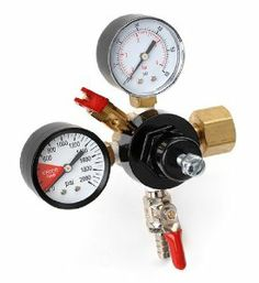 E.C. Kraus Economy: Co2 Regulator / Double Gauge by E.C. Kraus. $58.30. This Is Our Most Popular Configuration Of Co2 Regulator. The Dual Gauges Allow The Regulator To Display The Pressure In Both The Keg And The Co2 Tank. This Comes In Very Handy By Allowing You To Monitor When Your Co2 Tank Is Getting Low On Gas. This Co2 Regulator Model Has An Outlet For Distribution To A Single Keg Or Canister. Outlet Has A Instant Shut-Off Lever To Prevent Back-Flow From ...