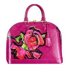 Louis Vuitton Stephen Sprouse Collection....Pink Flower Louis Bag...I'm In!!!