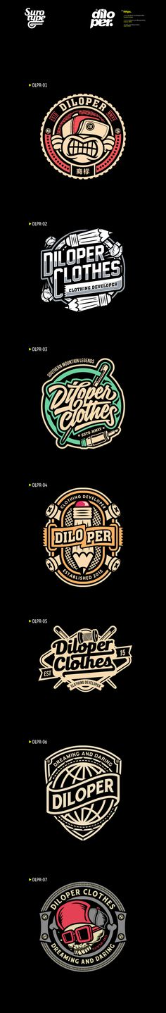 DILOPER CLOTHES-Vol.01 on Behance