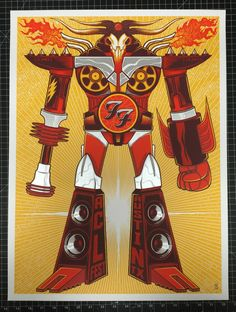 Foo Fighters ACL Fest Poster