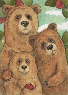 """the three bears"" | WhimsicalMoon on DeviantArt"