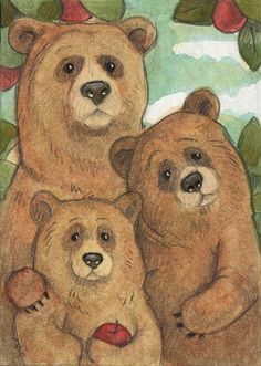 """the three bears"" 