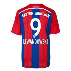Robert Lewandowski #9 Bayern Munich 15/16 Jersey