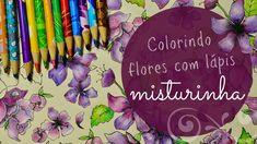 Colorindo com lápis Misturinha