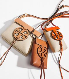 Visit Tory Burch to shop for Miller Canvas Cross-body and more Womens Mini Bags. Find designer shoes, handbags, clothing & more of this season's latest styles from designer Tory Burch. Tote Backpack, Crossbody Bag, Purses And Handbags, Leather Handbags, Accessorize Bags, Handbag Accessories, Vintage Accessories, Fashion Accessories, Goodie Bags