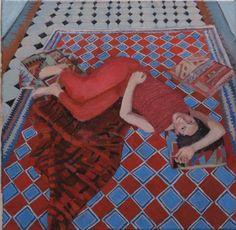 Pola Wickman - Day dreaming magic carpet #contemporary #art #hybrid