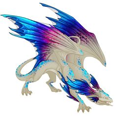 Accent: A Betta Experience Cool Mythical Creatures, Mythological Creatures, Fantasy Creatures, Wings Of Fire Dragons, Cute Dragons, Creature Drawings, Wolf Drawings, Anime Wolf, Mystical Animals