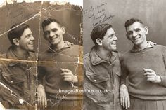 A photo restoration is always a pleasure especially when its of someone famous Norman Wisdom and when its appreciated with a few kinds words. Old Photos, Vintage Photos, Photo Touch Up, Norman Wisdom, Photo Fix, Photo Elements, Photo Repair, Photo Retouching Services, Heritage Scrapbooking