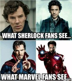 See both :) So.Marvel or Sherlock board? Both. Both is good. - Marvel avengers -I See both :) So.Marvel or Sherlock board? Both. Both is good. - Marvel avengers - RDJ signature move 16 Hilarious Doctor Strange Memes That Will Make You Laugh Out Loud Avengers Humor, Marvel Avengers, Marvel Jokes, Funny Marvel Memes, Dc Memes, Marvel Dc Comics, Marvel Heroes, Captain Marvel, Captain America