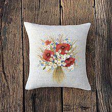 Úžitkový textil - Maličká chutnučká kytička \