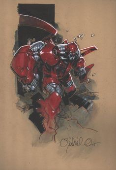 Colossus (Age of Apocalypse) by Chris Bachalo