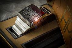 hewlett packard created the first smartwatch in 1977