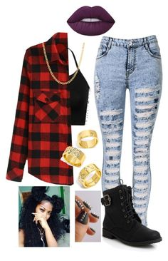 """""""#149-Run The World-Beyoncé"""" by kitty900 ❤ liked on Polyvore featuring Sterling Essentials, BaubleBar and Lime Crime"""
