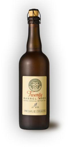 Breckenridge Brewing Co. - Simple, classic labeling...