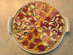 """Großer runder Stein """"White Lady"""" von Pampered Chef: Pizza"""