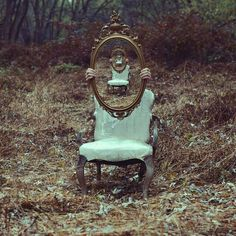 Cool ghost photography by surrealist photographer Cristopher McKenney.