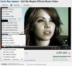 """YouTube on """"Call Me Maybe"""""""